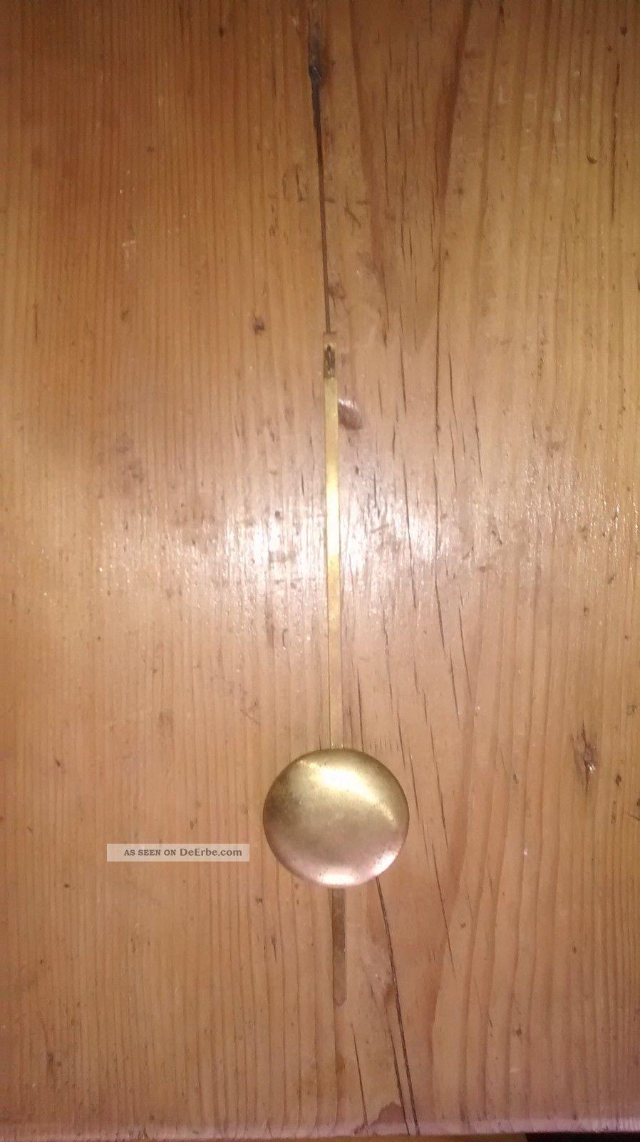 altes pendel oder perpendikel f r eine wanduhr