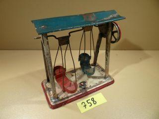 Antriebsmodell Doll Nr.  784 Schiffsschaukel Von Ca.  1925 / Dampfmaschine Bild