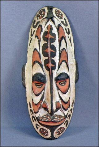 (p193) Tumbuan Nebenmaske Aus Dem Panitemer Grasland Papua Neuguinea Bild