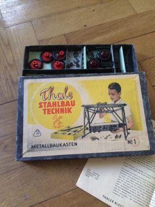 Metallbaukasten Thale Stahlbautechnik Bild