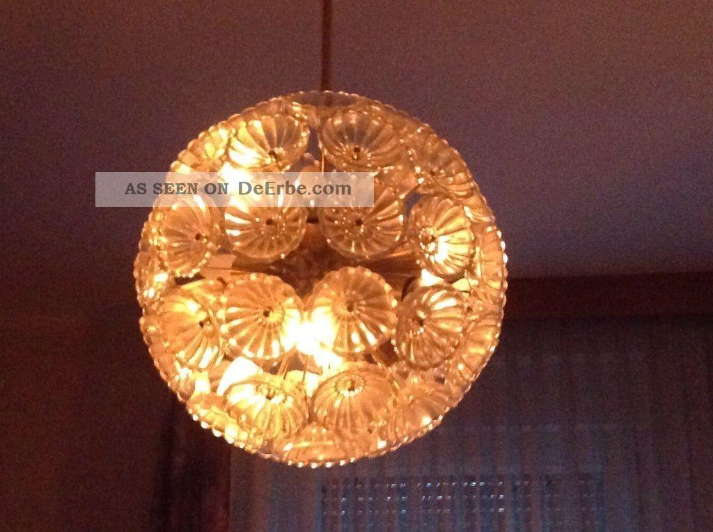 gro e lampe ddr pusteblume veb kristalleuchte emil stejnar. Black Bedroom Furniture Sets. Home Design Ideas