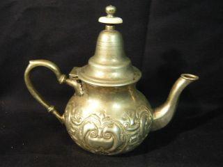 Moccakanne Kaffeekanne Teekanne Kanne Aus Marokko Maroc Bild