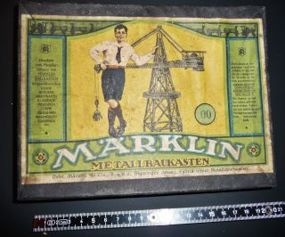143at - MÄrklin Metallbaukasten - Geschätzt 30er Jahre - Bild