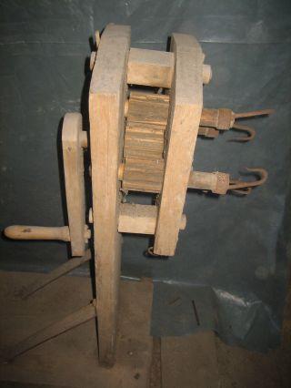 Museum Rar 2 Alte GerÄte Zum Seile Und Stricke Selbst Machen Scheunenfund Ansch. Bild