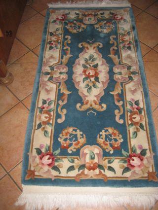 China Teppich/brücke Läufer Aubusson Teppich Ca.  148 X 70 Cm Bild