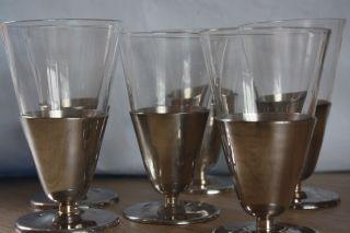 Wmf Eisbecher Mit Glaseinsatz Cromargan Glas Dachbodenfund Selten Bild