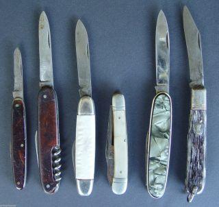 Sammler Fundus Konvolut Alter Taschenmesser,  6 StÜck (x11) Bild