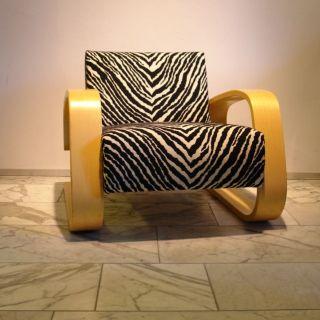 1 Cantilevered Chair,  Freischwinger Tank 400 Artek Alvar Aalto Zebra By Franta Bild