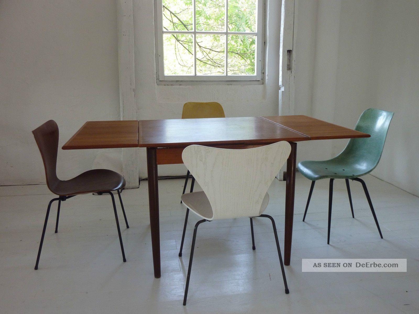 Esstisch Tisch Table Teak Mid Century Vintage Dining 50er 50s 60er 60s 1950-1959 Bild