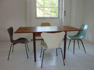 Esstisch Tisch Table Teak Mid Century Vintage Dining 50er 50s 60er 60s Bild