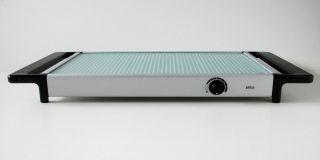 Braun Warmhalteplatte.  Thermos Tablett Tt 10.  Design Florian Seifert,  1972. Bild