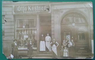 Schlächtermeister Otto Kestner / Berlin Um 1900 Bild