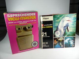 Vintage View Master Talking / Sprechend,  Nr.  21 Flipper Reels - Boxed Bild
