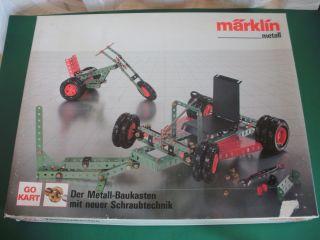 Seltener Metallbaukasten Märklin 1084 Unbespielt Bild