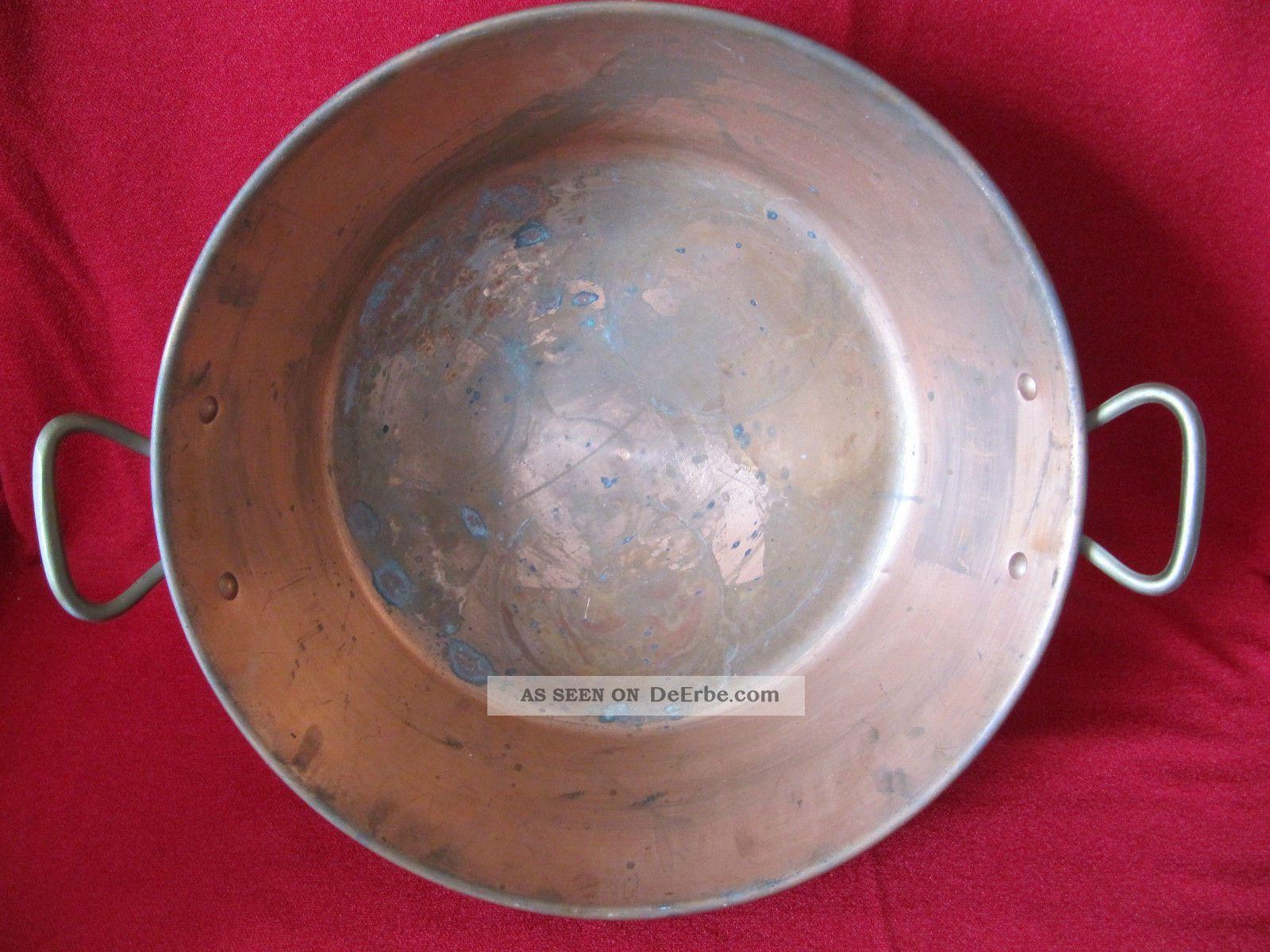 Kupfertopf Haushalt Bild