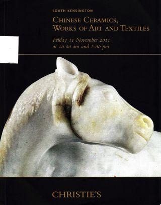 Chinese Ceramics & Of Art: Christie ' S London 11,  Results Bild