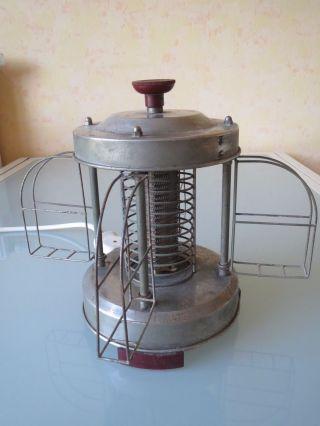 Karussel Dreh Wendetoaster Saluta Type 584 Nr.  109 Germany Bakelite Red 700 Watt Bild