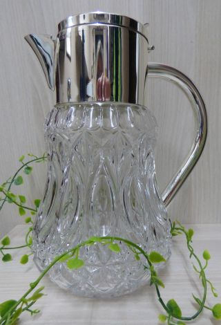 - Schwere Große Kristall Kalte Ente Bleikristall Handgeschliffen 3liter Bild