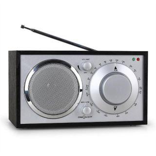 Nostalgisches Ukw Radio Mit Sendertuner Und Aux Eingang Für Zeitgemäßen Klang Bild