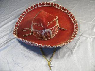 Reiseandenken Aus Mexiko,  Echter Sombrero,  Handarbeit, Bild