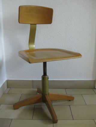 Ama Elastik 364 R Bauhaus Büro - /archtekten - /drehstuhl Mit Federung D.  R.  G.  M. Bild