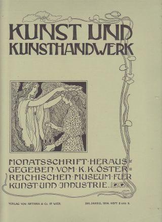 Kunst Und Kunsthandwerk 1914 Nr.  8,  9 Gusseisen Platten F.  Kamine U.  Öfen Bilder Bild