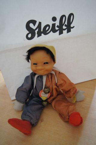 Steiff Cappy Puppe Harleki Clown 8728,  70 K - F - S Bild