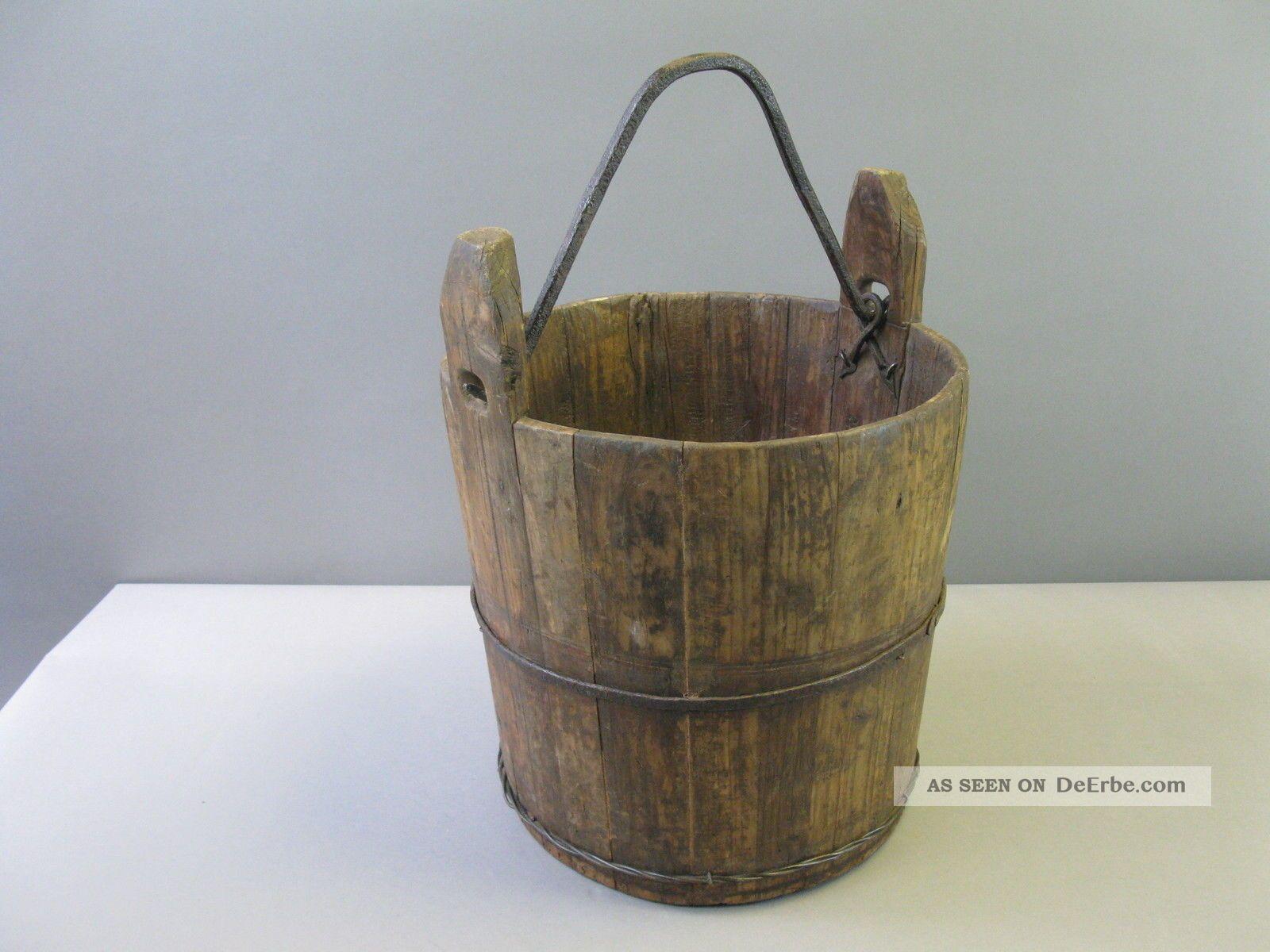 Antiquitäten & Kunst Antiker Brunneneimer