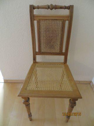 6 X Schöne Antike Gründerzeit Spätbiedermeier Stühle Neupreis 2700 Dm  Jugenstil Bild