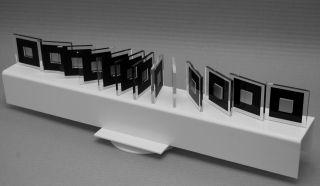 Drehbares Objekt,  Op Art,  Konkrete Kunst,  Acrylglas,  Handsigniert,  H.  Heinecke,  D43 Bild