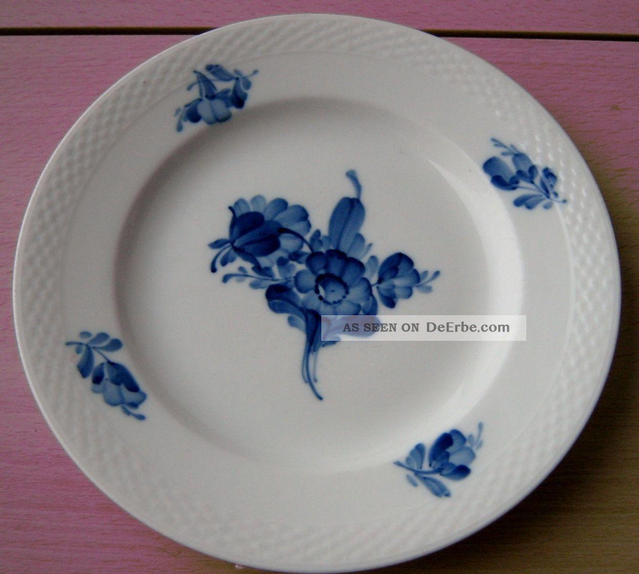 """Krautheim Suppenteller /""""Blaue Blume/"""" Ø 22,6 cm Tiefe Teller"""
