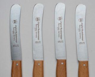 Messer Frühstücksmesser,  Buttermesser - Wie Aus Einer Anderen Zeit 4 Stück Bild