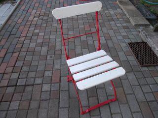 Historische baustoffe garten parkeinrichtung original vor 1960 gefertigt gartenm bel - Rot blauer stuhl ...