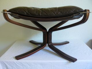 Falcon Chair Hocker Vatne MÖbler Norway 60s 70s Mid Century Design S.  Ressel Bild