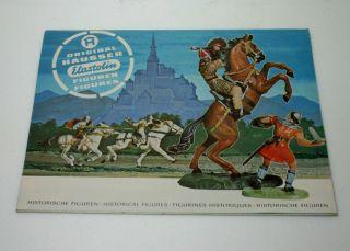 Hausser Elastolin Figuren Prospekt Von 1973 Bild