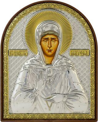 Ikone Heilige Matrona Von Moskau (rus.  Orthodoxe,  Icône,  Icon,  Икона Святая Матрона) Bild