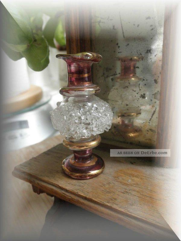 sehr alte filigrane vase aus glas um 1900 puppenhaus puppenstube. Black Bedroom Furniture Sets. Home Design Ideas