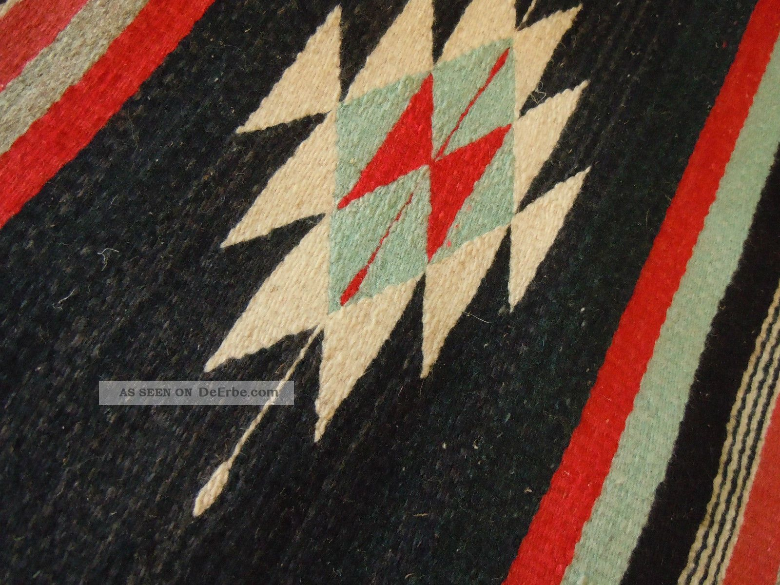 Vintage Teppich Kelim Kilim Aus Mexiko 100 Wolle 1960er