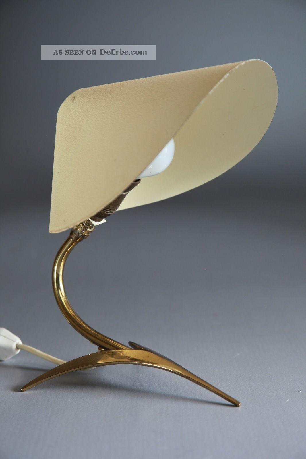 Tischlampe Frankreich Um 1950 50er 60er Kalff Guariche Stilnovo 1950-1959 Bild