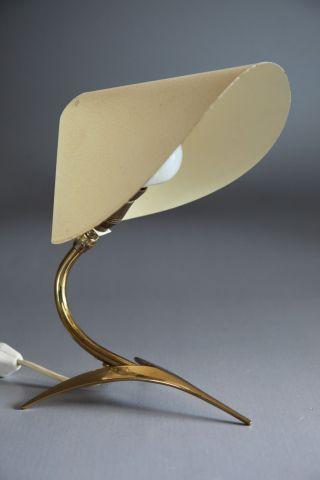 Tischlampe Frankreich Um 1950 50er 60er Kalff Guariche Stilnovo Bild