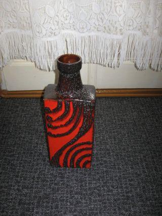 Fat Lava - Pop Art - Bodenvase Von Scheurich - 70er / Flaschenvase Bild