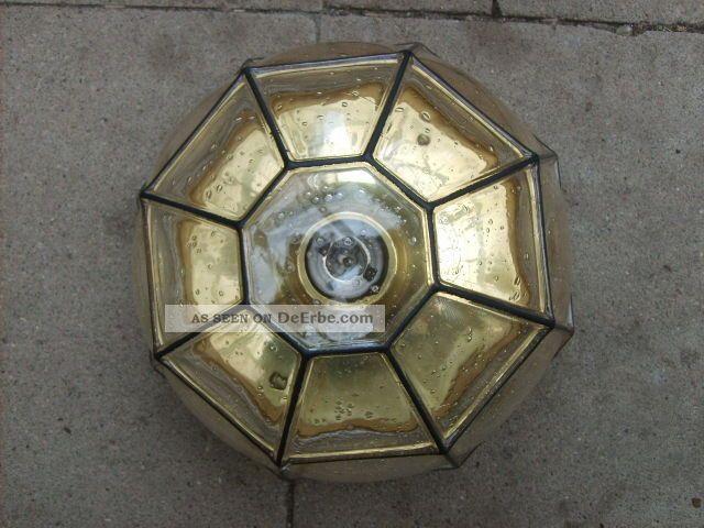 70er lampe glash tte limburg deckenlampe plafoniere 26 cm. Black Bedroom Furniture Sets. Home Design Ideas