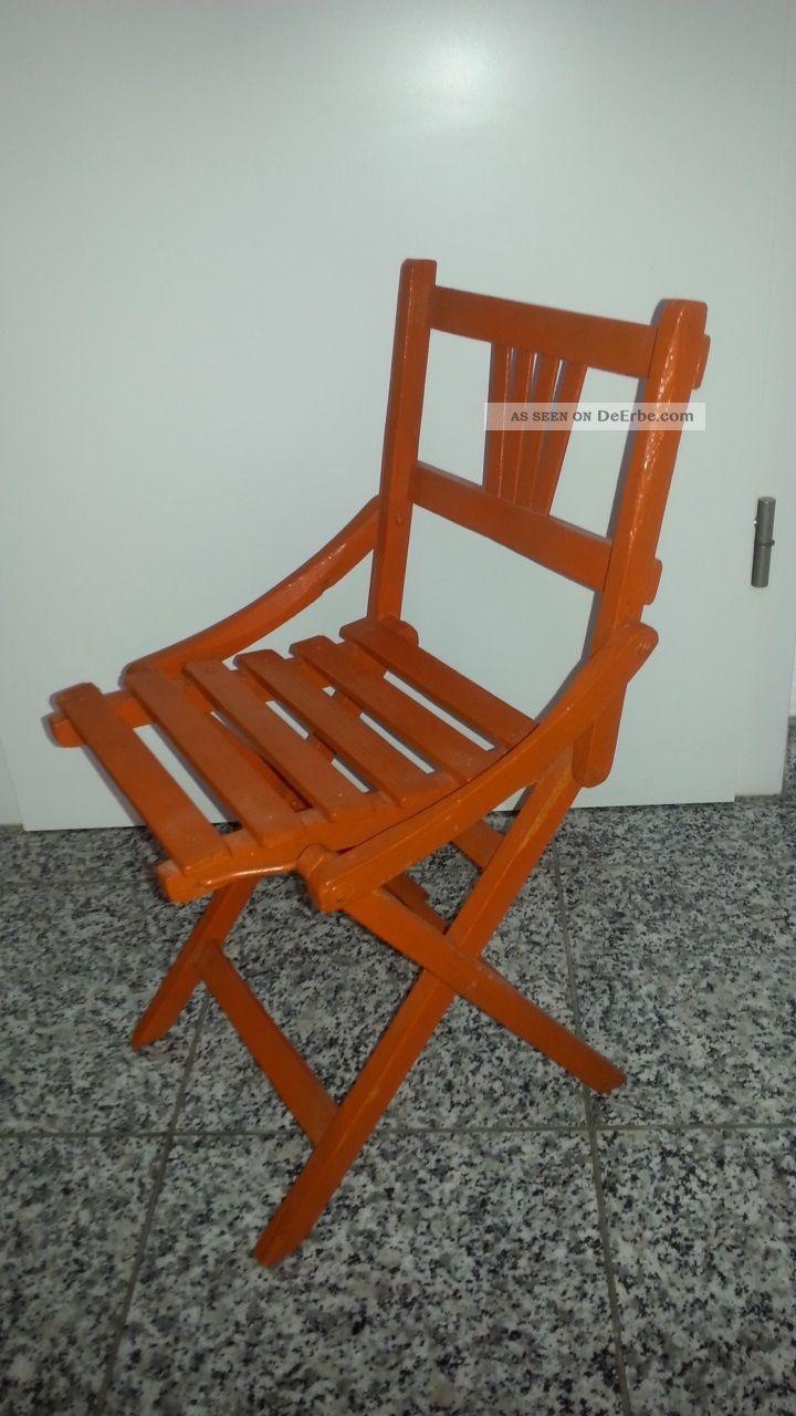 Klappstuhl holz antik  Mobiliar & Interieur - Sitzmöbel - Antike Originale vor 1945 ...