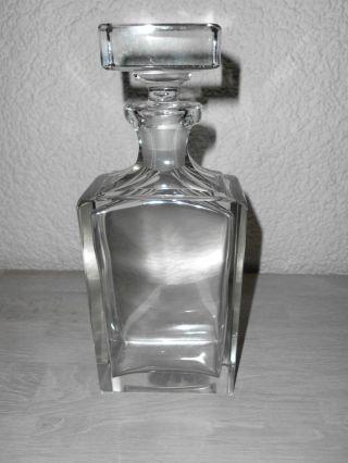 Whiskey Karaffe Glas Bild