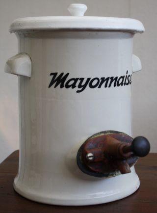 Mayonnaise,  Mayo,  Steingut,  Mayonaisespender,  Dispenser,  Keramik,  Bakelit,  Pommensbude Bild