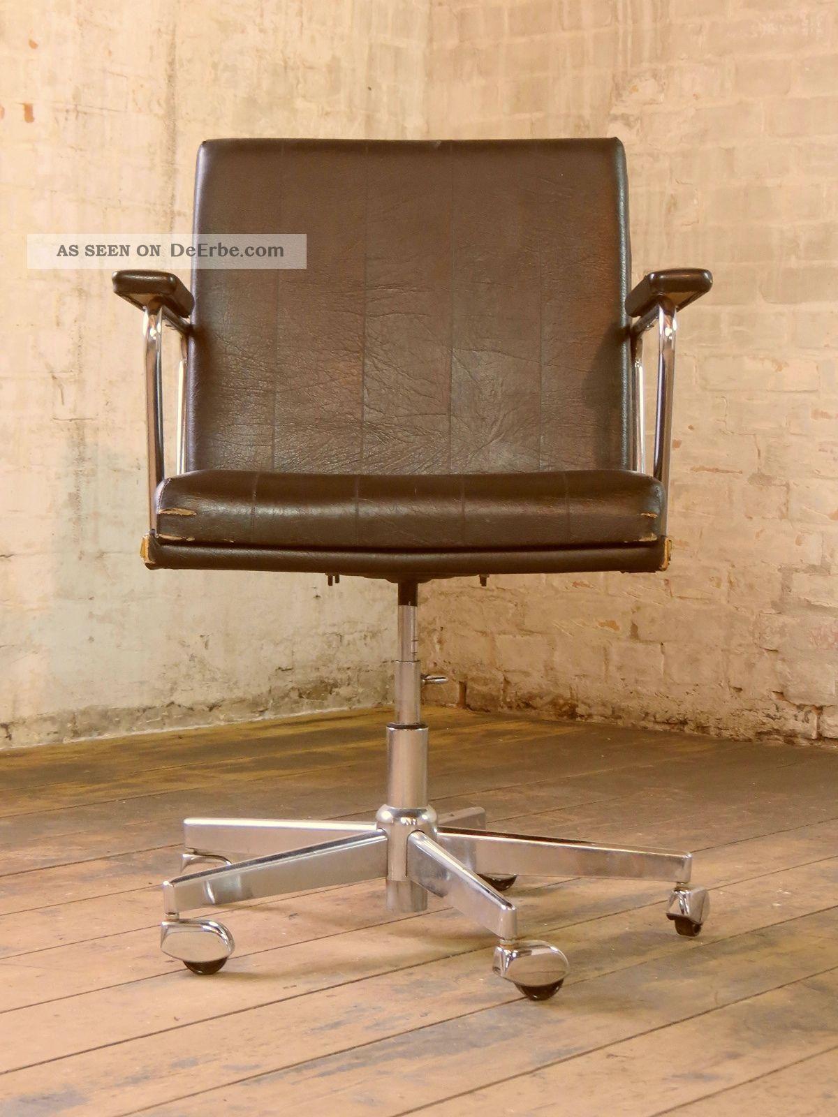70er Jahre B 252 Rostuhl Schreibtischstuhl Stuhl Drehstuhl