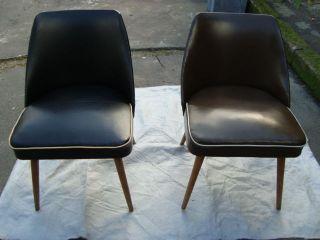 50er 60er Sessel Halbsessel Cocktailsessel Stuhl Diner Rockabilly Nieten Lounge Bild