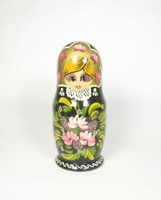 3 Babuschka Matruschka 1960 Vintage Steckpuppe Ostern Easter Doll Tresor Signed Bild