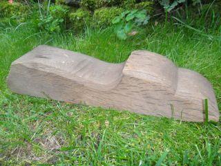 Alter Sparrenkopf,  Eichenbalken,  Stele,  Skulptur,  Garten - Deko,  Eichenholz,  Altholz Bild