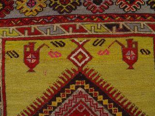 Antiker Türkischer Teppich Antique Rug Konya Ca.  180 X 114 Cm 006 Bild